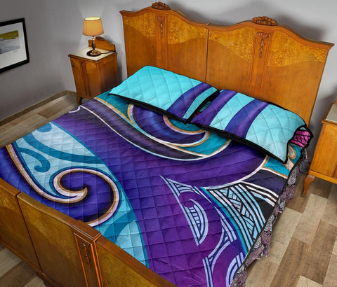 Image of Maori Quilt Bed Set 27 Bn10