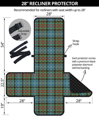 Image of Paisley District Tartan Recliner Sofa Protector | Tartan Home Set