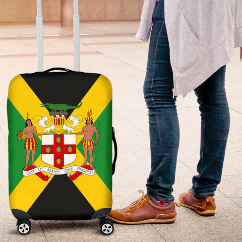 Image of Jamaica Coat Of Arms Luggage Covers H4 | Love The World