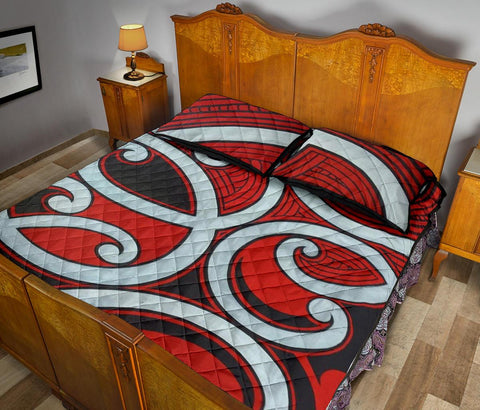 Image of Maori Quilt Bed Set 28 Bn10