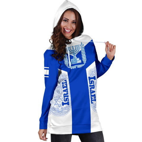 Image of Israel Hoodie Dress Rising A10