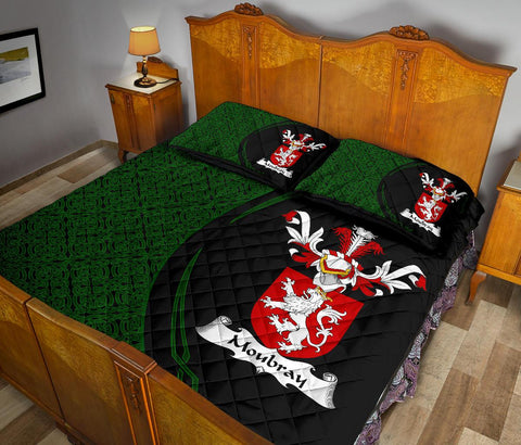 Moubray Family Crest Quilt Bed Set Circle Hj4