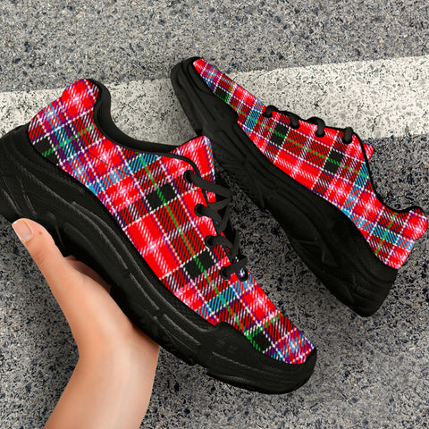 Image of Aberdeen District Tartan Chunky Sneaker - BN