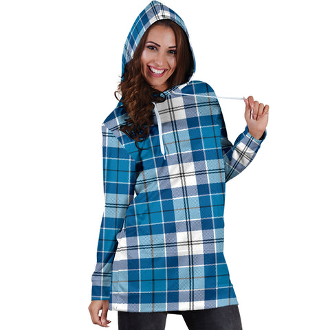 Robertson Ancient Tartan Hoodie Dress HJ4 |Women's Clothing| 1sttheworld