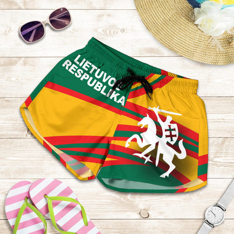 Lithuania Women Short N Flag A15
