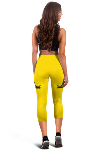 Image of Gadsden Flag Women's Capris - J4
