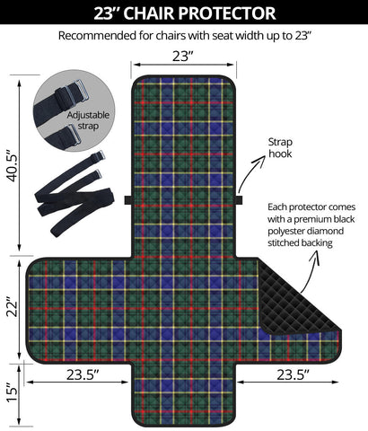 Image of Ogilvie Hunting Modern Tartan Chair Sofa Protector K7