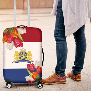 The Netherlands Tulips Luggage Cover A7