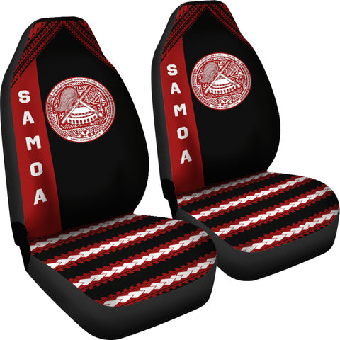 Seal of American Samoa Car Seat Covers