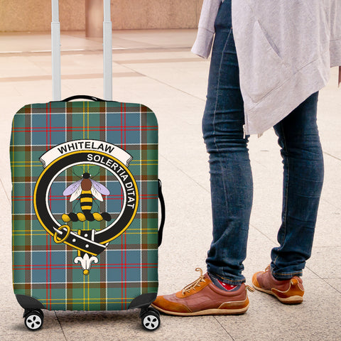 Whitelaw District Tartan Clan Badge Luggage Cover Hj4 | Love The World