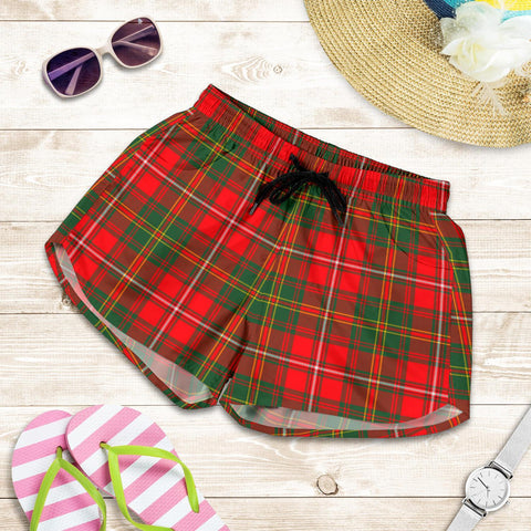 Hay Modern Tartan Shorts For Women Th8