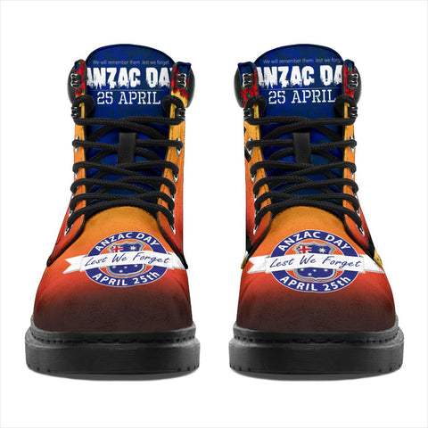 Australia Anzac Day All-Season Boots - Lest We Forget A31