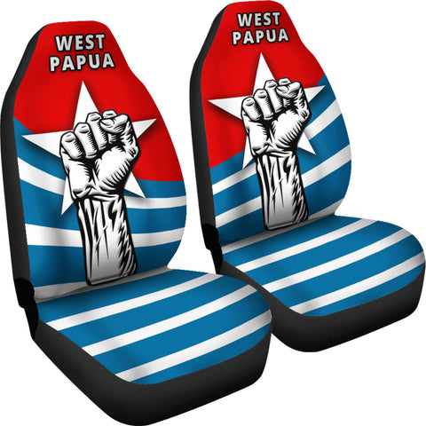 Free West Papua Car Seat Covers K4