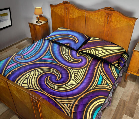 Image of Maori Quilt Bed Set 07 Bn10