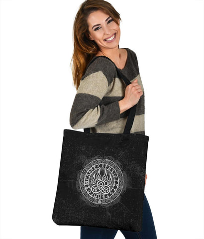 Viking Wolf Tote Bag A31