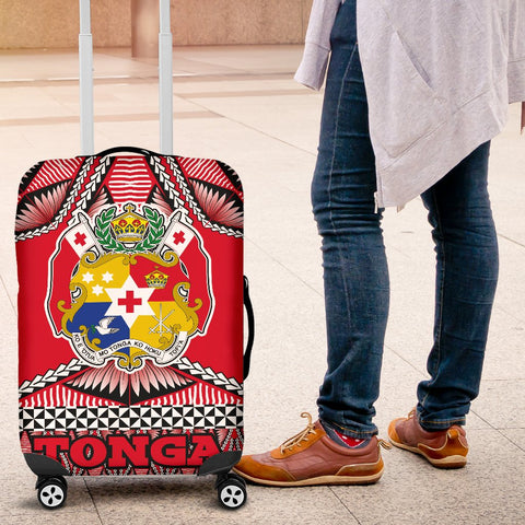 Tonga Polynesian Luggage Covers - Coat Of Arms - BN12
