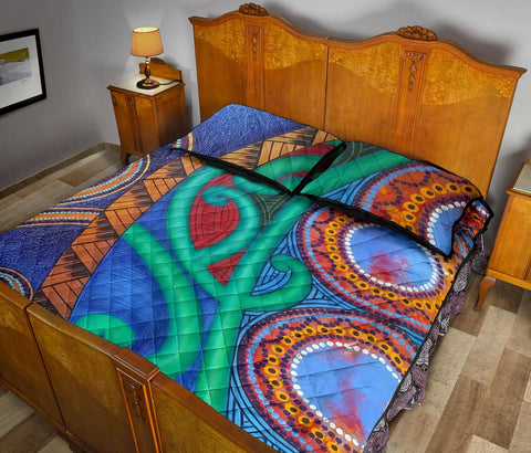 Image of Maori Quilt Bed Set 32 Bn10