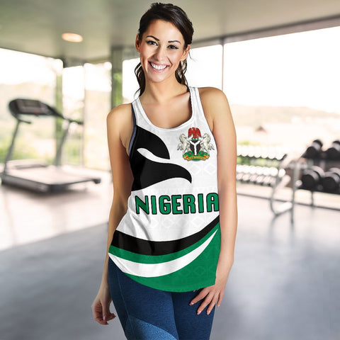 Nigeria Women Racerback Tank Proud Version K4