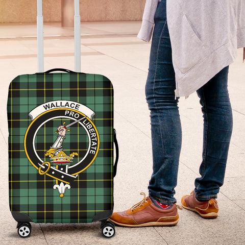 Wallace Tartan Clan Badge Luggage Cover Hj4 | Love The World