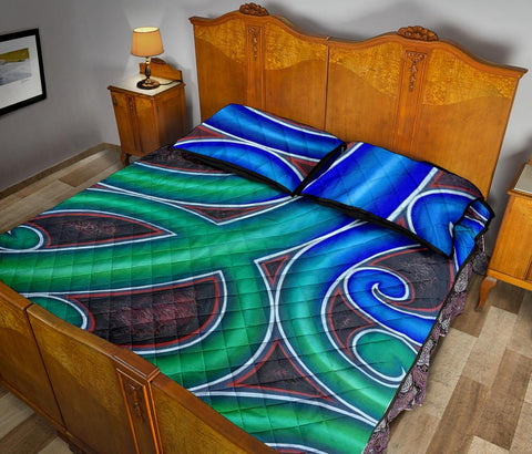 Image of Maori Quilt Bed Set 13 Bn10