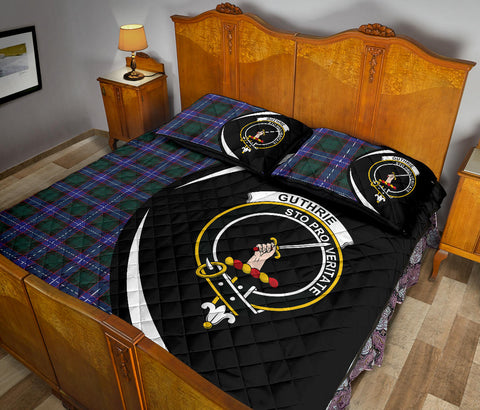 Guthrie Modern Tartan Quilt Bed Set Circle HJ4