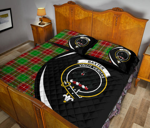 Image of Baxter Modern Tartan Quilt Bed Set Circle HJ4