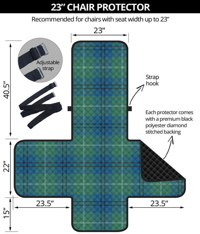 Image of Oliphant Ancient Tartan Chair Sofa Protector K7