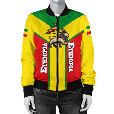 Image of Ethiopia Bomber Jacket Women Rising A10