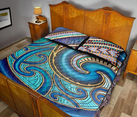 Image of Maori Quilt Bed Set 08 Bn10
