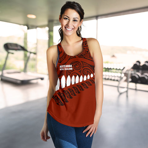 New Zealand Racerback Tank | Women Clothing | Maori