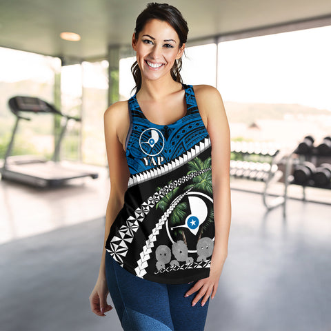 Yap Women Racerback Tank - Road to Hometown K4