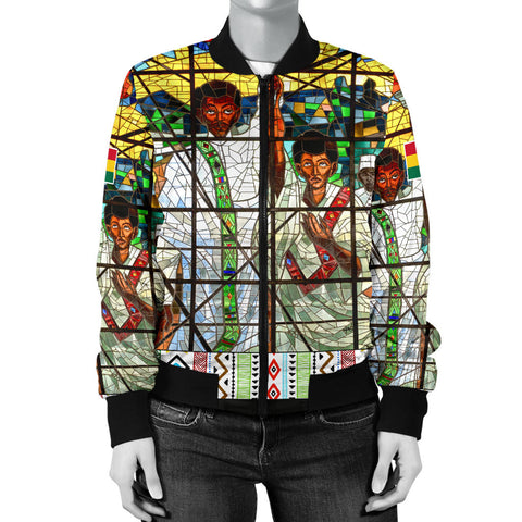 Ghana Bomber Jacket Total Liberation of Africa Women A10