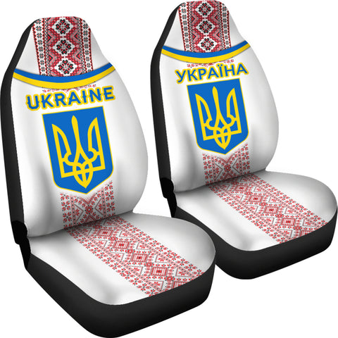 Ukraine Car Seat Covers - Vibes Version K8