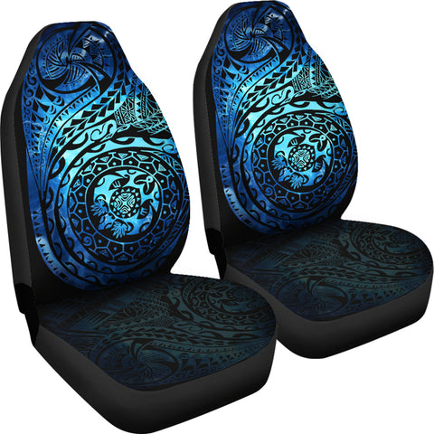 Polynesian Tattoo Style Car Seat Covers Special Version A7