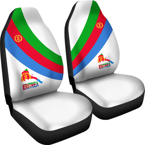Eritrea Car Seat Covers - Special Flag (Set of Two) A7