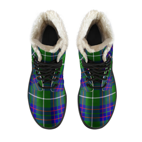 Macintyre Hunting Modern Tartan Boots For Men