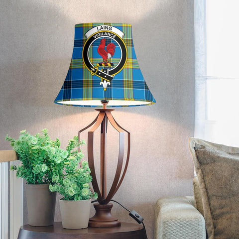 Image of Laing Tartan Clan Crest Bell Lamp Shade HJ4