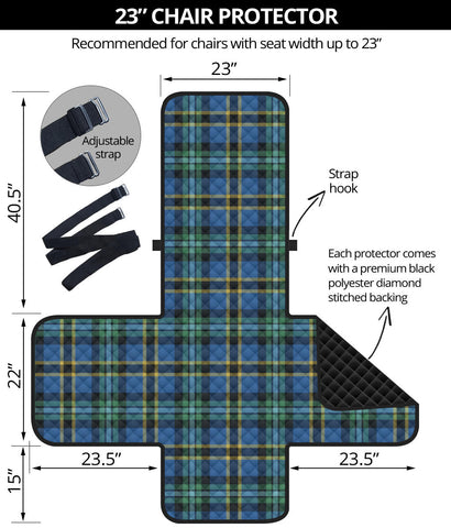 Image of Weir Ancient Tartan Chair Sofa Protector K7