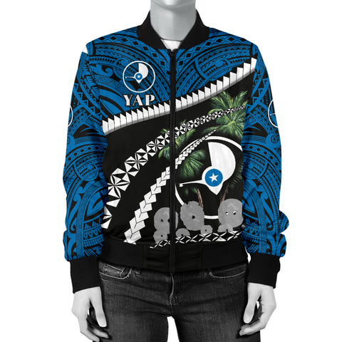 Image of Yap Women Bomber Jacket - Road to Hometown K4