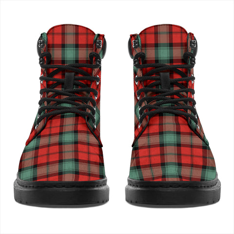 Kerr Ancient Tartan Clan Crest All-Season Boots HJ4