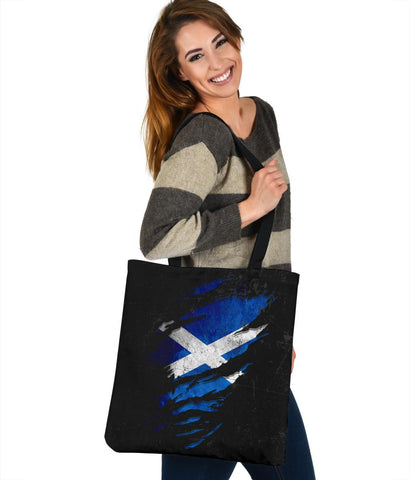 Scotland in Me Tote Bag - Special Grunge Style A7