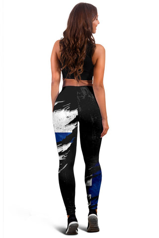 Finland In Me Women's Leggings - Special Grunge Style A31