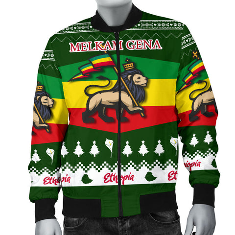 Image of Ethiopia Christmas Bomber Jacket Men K5