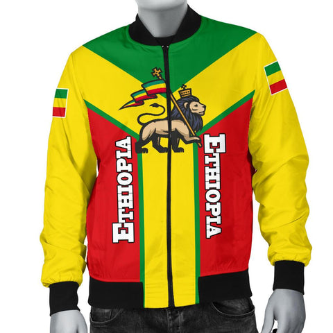 Image of Ethiopia Bomber Jacket Men Rising A10