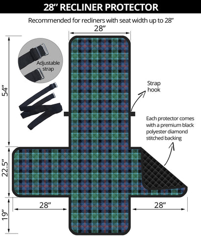 Image of MacTaggart Ancient Tartan Recliner Sofa Protector | Tartan Home Set
