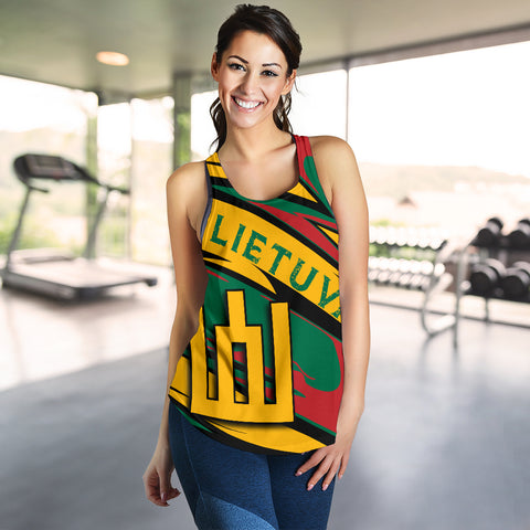 Lithuania Knight Forces Women's Tank Top - Lode Style - JR