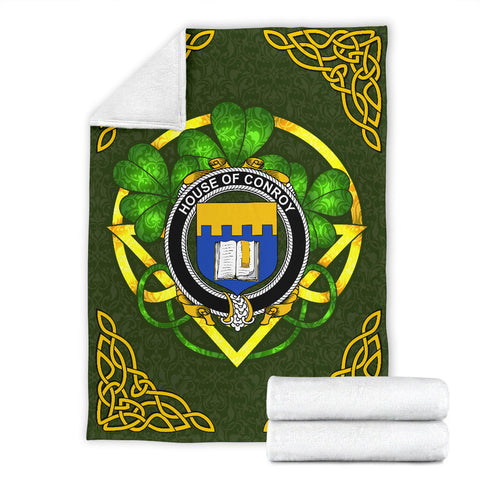 Conroy (O'Mulconry) Ireland Premium Blanket | Home Set | Special Custom Design