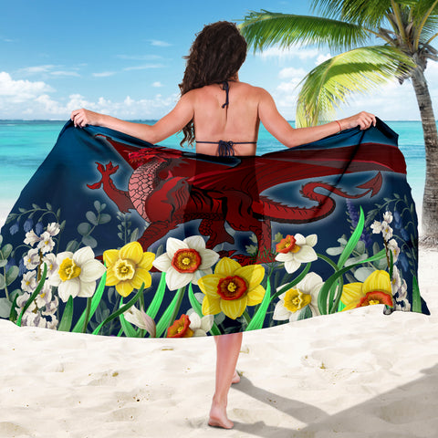 Image of Welsh Sarong - Dragon Daffodil A024