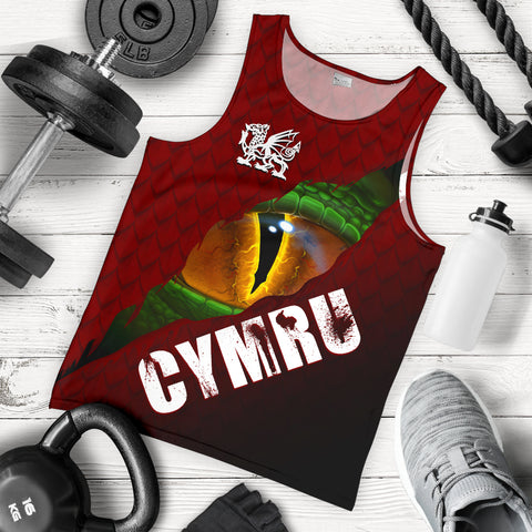 Welsh Men's Tank Top - Dragon Eyes | Clothing | Love The World