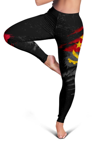 Image of Angola In Me Women's Leggings - Special Grunge Style A31